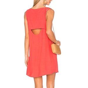 BB Dakota Jodi Sheath Dress Valentine Red Cut Out
